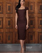 Lindsey Fitted Dress - Critique' Boutique