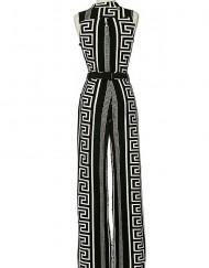 Graphic Print Jumpsuit - Critique' Boutique